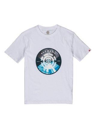 Element AIKEN OPTIC WHITE dětské triko s krátkým rukávem - bílá