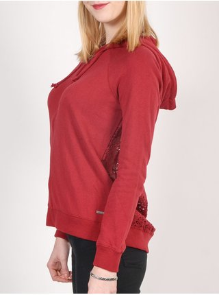 Element PIXIE BIKING RED dětská mikiny na zip - červená