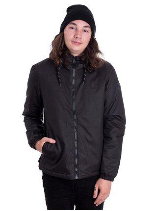 Element ALDER WAX FLINT BLACK podzimní bunda pro děti - černá