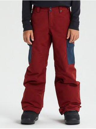 Burton EXILE CARGO SPARRW/MODIGO dětské zimní kalhoty - červená