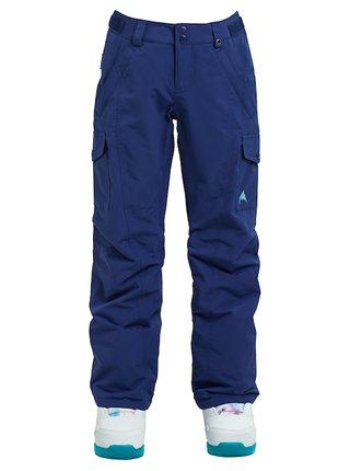 Burton ELITE CARGO SPELLBOUND dětské zimní kalhoty - modrá