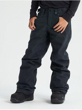 Burton BARNSTORM black denim dětské zimní kalhoty - černá
