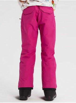 Růžové holčičí zimní kalhoty Burton