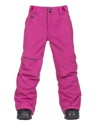 Horsefeathers SPIRE CLOVER dětské zimní kalhoty - růžová
