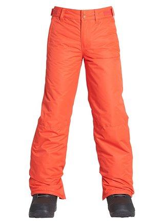 Billabong GROM LAVA dětské zimní kalhoty - oranžová