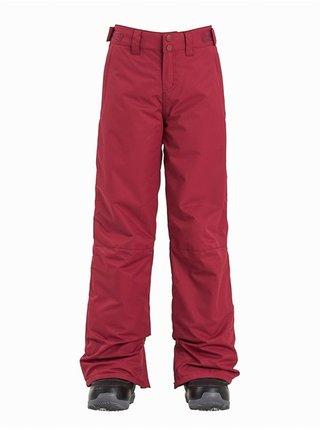 Billabong ALUE RUBY WINE dětské zimní kalhoty - červená