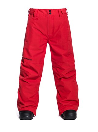 Horsefeathers SPIRE RED dětské zimní kalhoty - červená