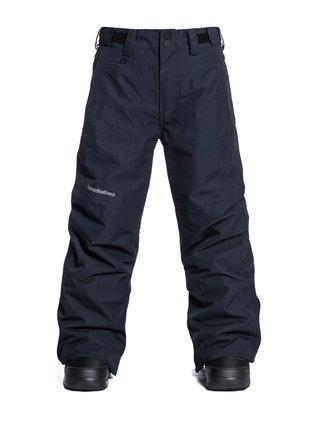 Horsefeathers SPIRE black dětské zimní kalhoty - černá