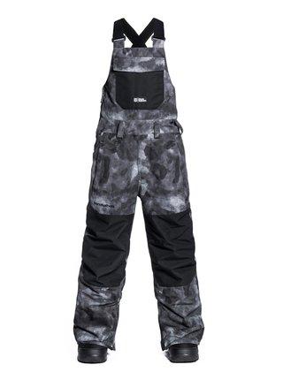 Horsefeathers MEDLER gray camo dětské zimní kalhoty