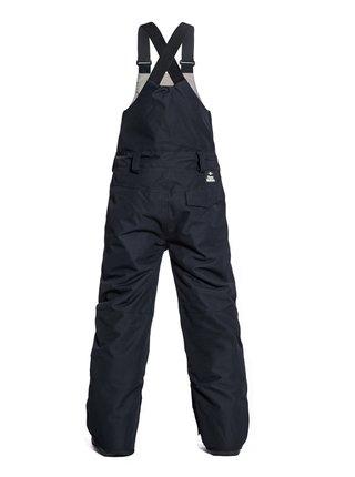 Horsefeathers MEDLER black dětské zimní kalhoty - černá