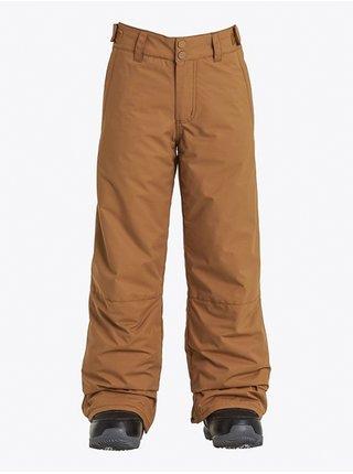 Billabong GROM ERMINE dětské zimní kalhoty - hnědá
