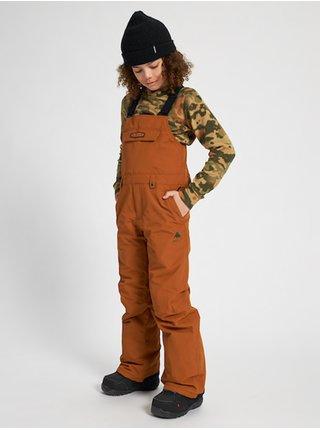 Burton SKYLAR BIB TRUE PENNY dětské zimní kalhoty - hnědá