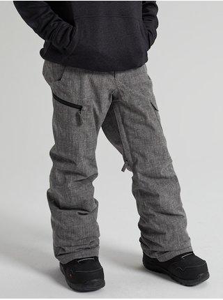 Burton EXILE CARGO BOG HEATHER dětské zimní kalhoty - šedá