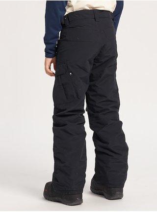 Burton EXILE CARGO TRUE BLACK dětské zimní kalhoty - černá