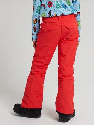 Burton SWEETART HIBISCUS PINK dětské zimní kalhoty - oranžová