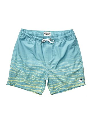 Billabong FIFTY 50 STRETCH MINT  - modrá
