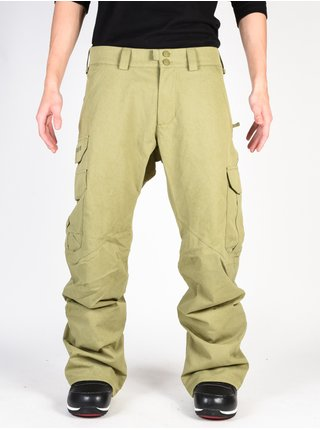 Burton CARGO OLIVE BRNCH DISTRESS lyžařské kalhoty pánské - zelená