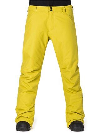 Horsefeathers PINBALL apple green lyžařské kalhoty pánské - žlutá