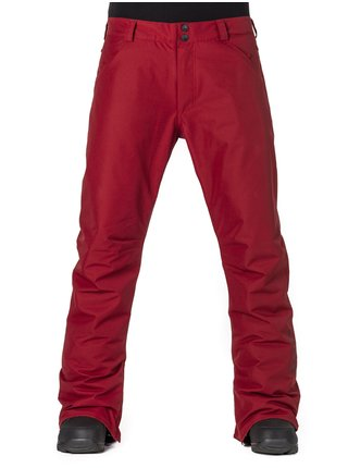 Horsefeathers PINBALL RED lyžařské kalhoty pánské - červená