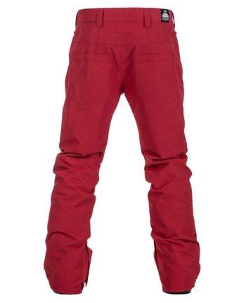 Horsefeathers SPIRE RED lyžařské kalhoty pánské - červená