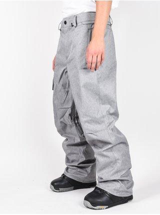 Volcom Ventral HEATHER GREY lyžařské kalhoty pánské - šedá