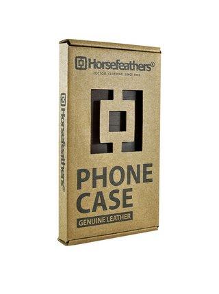 Horsefeathers FLYNN brushed gray obal na mobil - šedá