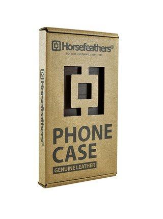 Horsefeathers TODD TOBACCO obal na mobil - hnědá