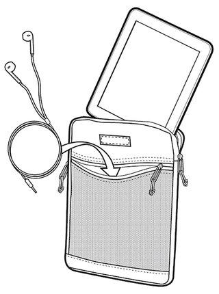 Burton HYPERLINK TABLET TBLK TRIPLE RIPSTOP obal na tablet - černá