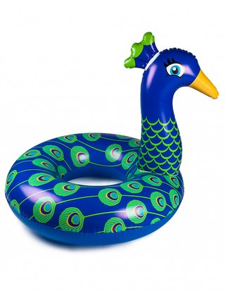 Big Mouth Inc. Pool Float Peacock nafukovačka - modrá
