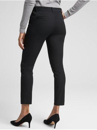 Čierne dámske nohavice GAP Skinny Bi-Stretch