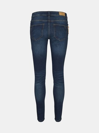 Tmavě modré skinny fit džíny VERO MODA