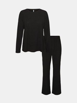 Černé pyžamo VERO MODA