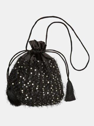 Černá malá kabelka s flitry VERO MODA