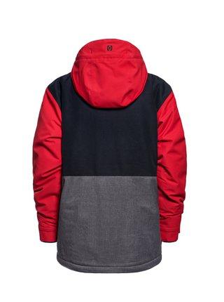 Horsefeathers DAMIEN RED zimní dětská bunda - šedá
