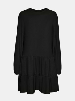 Čierne voľné šaty VERO MODA