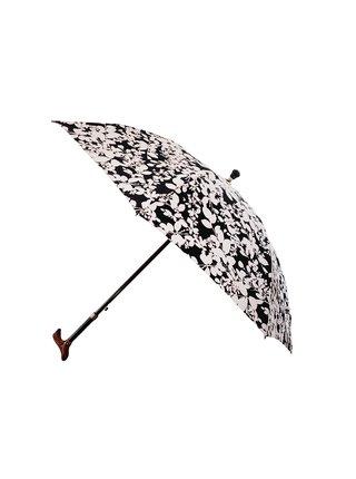 RSQ1912 Floral Walking Stics FB dámská vycházková hůl s deštníkem - Černá