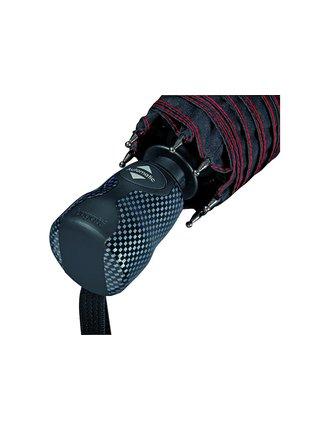 Bugatti Gran Turismo Carbon pánský skládací deštník - Černá