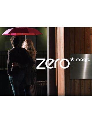 Doppler Zero Magic červený dámský plně automatický deštník - Červená