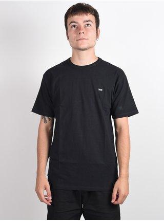 Vans OFF THE WALL CLASSIC black pánské triko s krátkým rukávem - černá