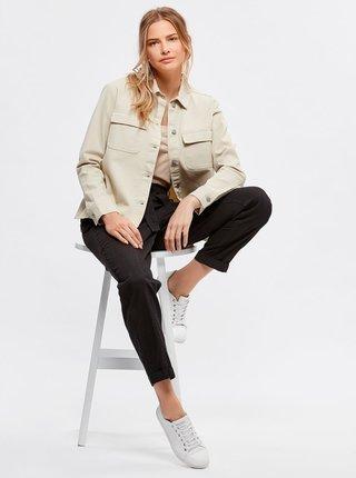 Béžová ľahká bunda M&Co