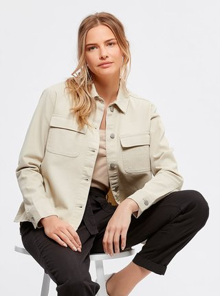 Béžová lehká bunda M&Co