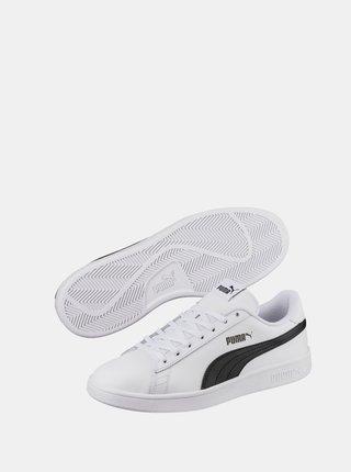Bílé pánské kožené tenisky Puma