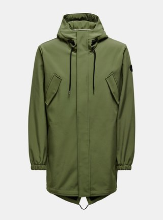 Khaki parka ONLY & SONS