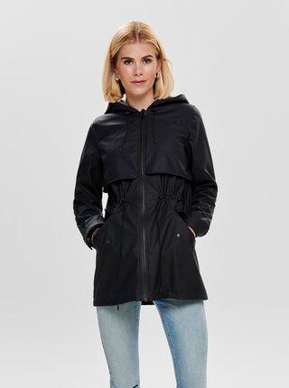 Tmavomodrá vodeodolná bunda ONLY