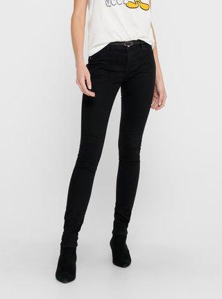 Černé skinny fit džíny ONLY-Pia