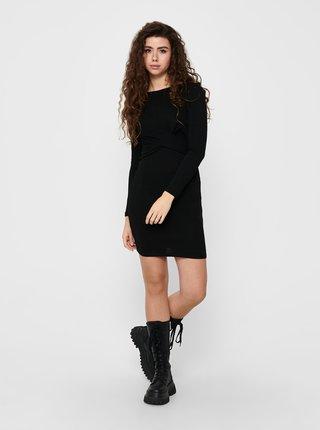 Černé pouzdrové šaty ONLY