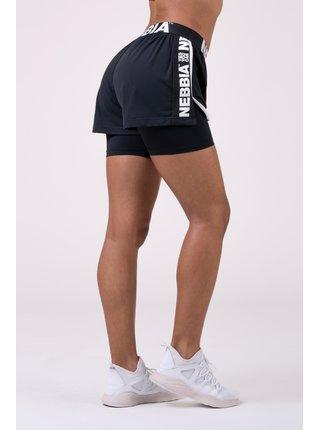 Fast&Fit Double Layer šortky 527 - černá
