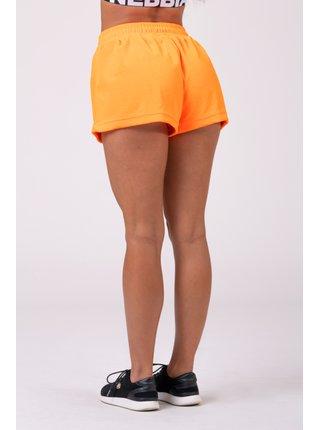 Neon Energy boxerské šortky 519 - oranžová