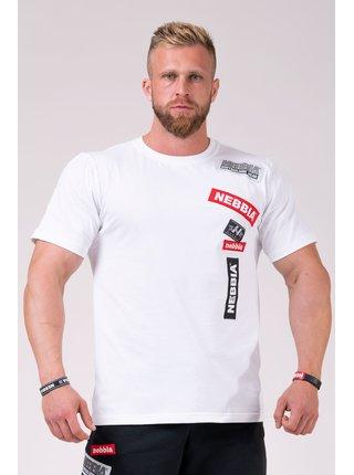NEBBIA BOYS tričko 171 - bílá
