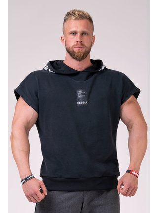 NO LIMITS rag top s kapucňou 175 - černá
